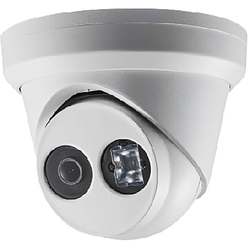 Hikvision (DS-2CD2343G0-I 2.8MM) DS-2CD2343G0-I 4MP Outdoor Network Turret Camera with Night Vision & 2.8mm Lens