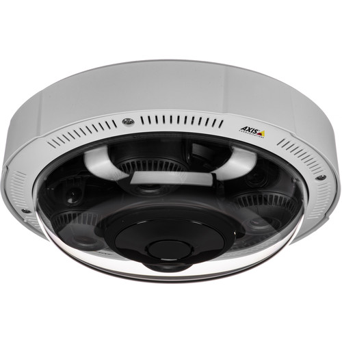 Axis Communications (01504-001) P3717-PLE 8MP Outdoor 4-Sensor 360° Network Dome Camera with Night Vision