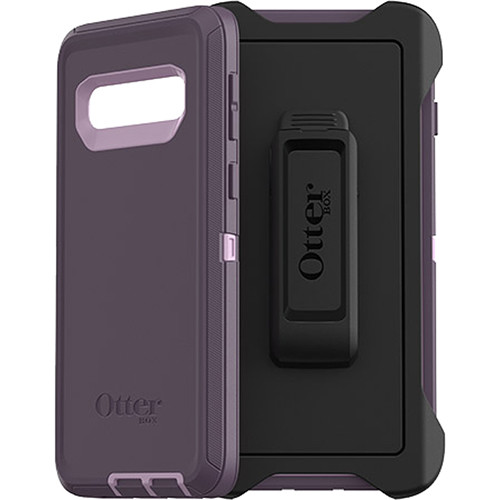 low priced c2d64 f11b6 OtterBox Defender Series Case for Samsung Galaxy S10 (Purple Nebula)