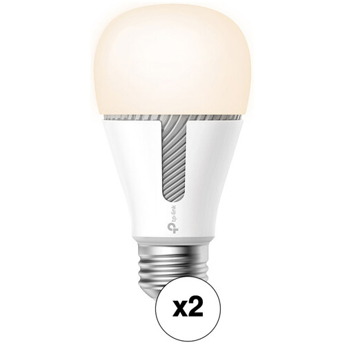 2-Pk TP-Link KL120 Kasa Smart Wi-Fi LED A19, 60W Equivalent Light Bulb