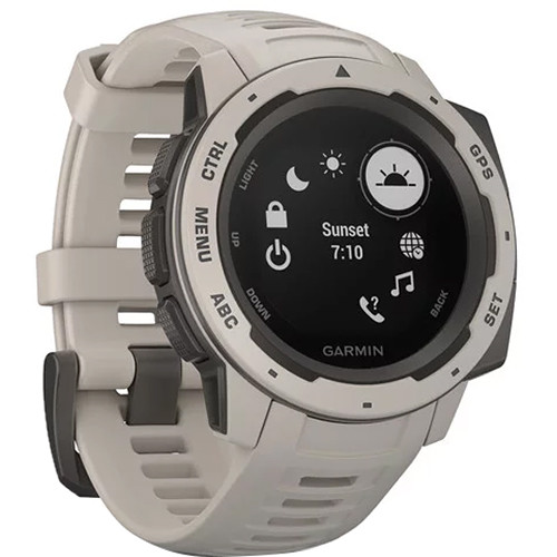 Garmin Instinct Outdoor GPS Watch (Tundra)
