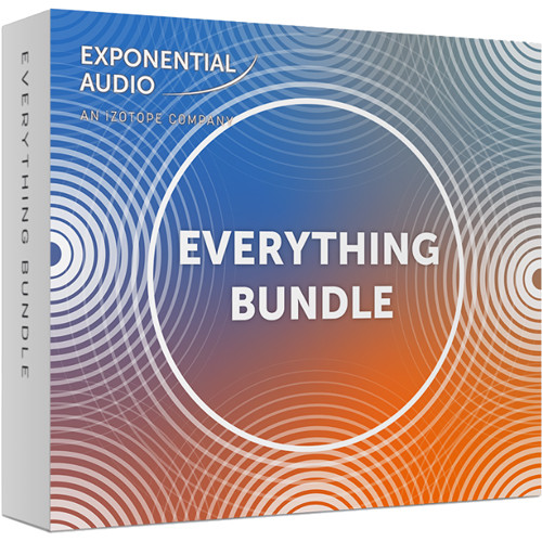 iZotope Exponential Audio Everything Bundle - Reverb Software & Sound  Design Tools (Download)