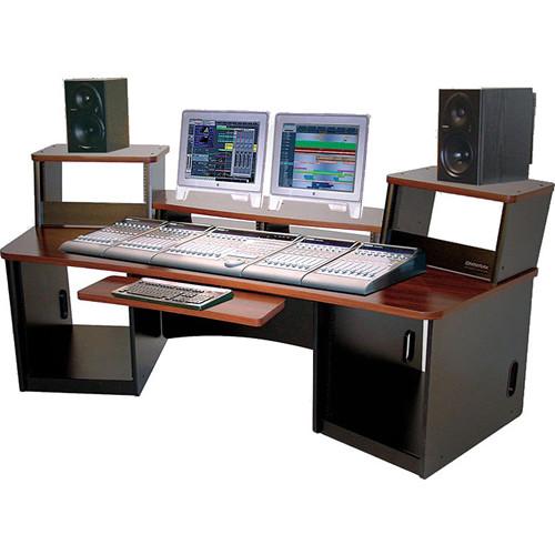 Omnirax Force 36 Multi-Purpose Workstation With Split FRC36BL