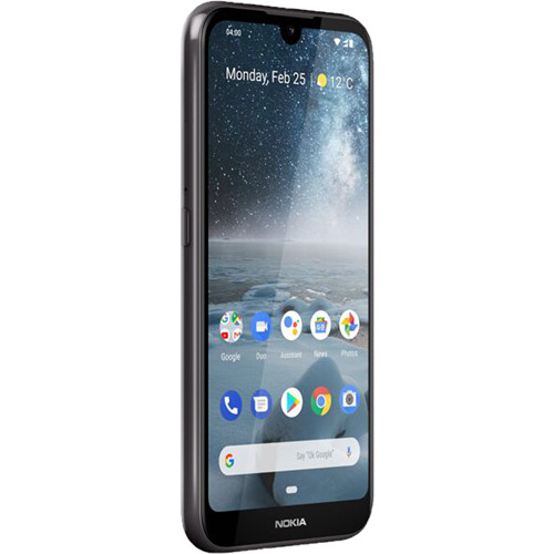 Nokia 4 2 Dual-SIM 32GB Smartphone (Unlocked, Android One, Black)