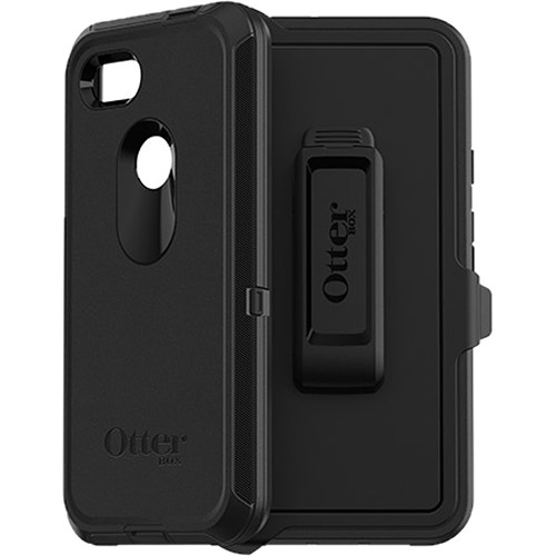 new concept 4ff05 c2f0e OtterBox Defender Series Case for Google Pixel 3a XL (Black)