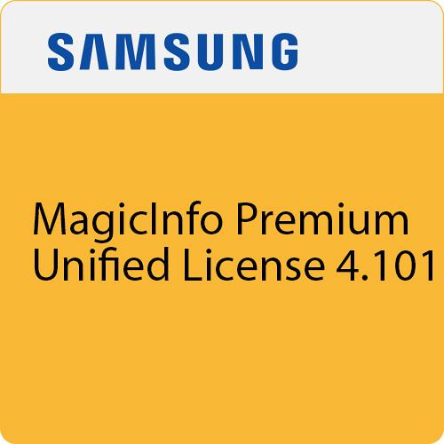Samsung MagicInfo Premium Unified License 4 101