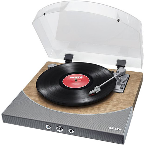 Best Turntable 2020.Ion Audio Premier Lp Stereo Turntable With Bluetooth And Usb Natural