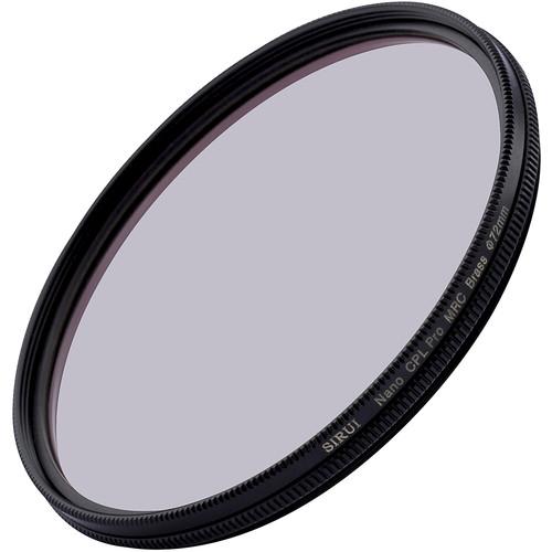 Brass Ring Sirui 58mm Ultra Slim S-Pro Nano MC Circular Polarizer Filter