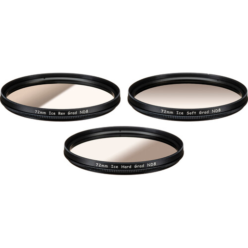 ICE 72mm ND8 Filter Neutral Density ND 8 72 3 Stop Optical Glass
