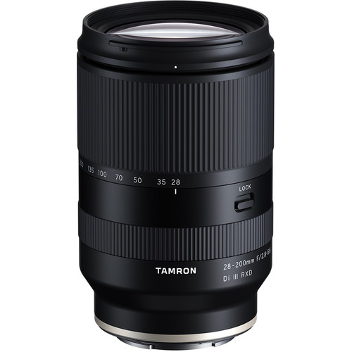 28-200mm f/2.8-5.6 Di III RXD Lens for Sony E