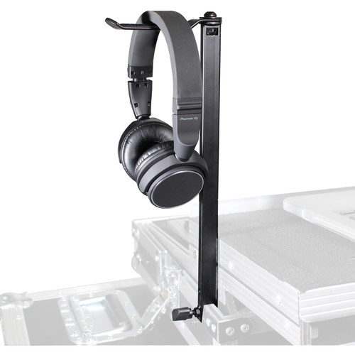 Headphone Pole Stand for DJ Flight Cases
