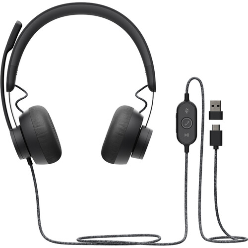 Zone Wired On-Ear Headset (Microsoft Teams)