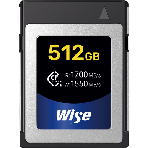 Wise Advanced CFX-B512 512GB CompactFlash Card