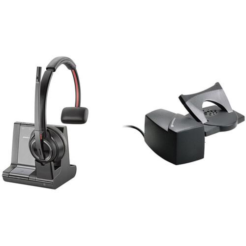Plantronics Savi 8210 Wireless Dect Headset System 207309 01 B H