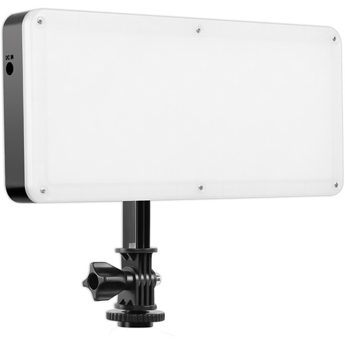 GVM 162 RGB LED On-Camera Light with Bluetooth App Control