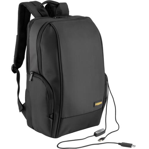 Ruggard CBUV-15B Backpack with UVC Sterilization Pocket