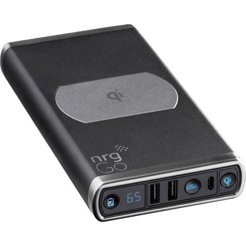 NrgGo N10000 25600mAh Portable Power Bank