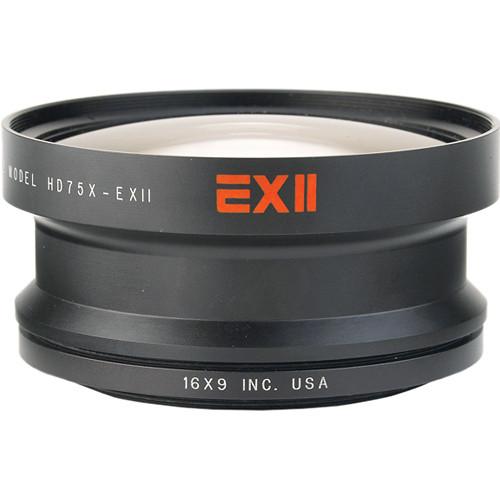 16x9 Inc. 169-HDWC75X72 0.75x Wide Angle Converter