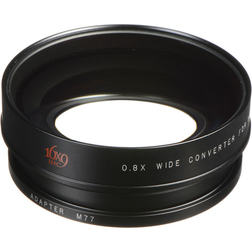16x9 Inc. 169-HDWC8X-77 EXII 0.8x Wide Angle Converter