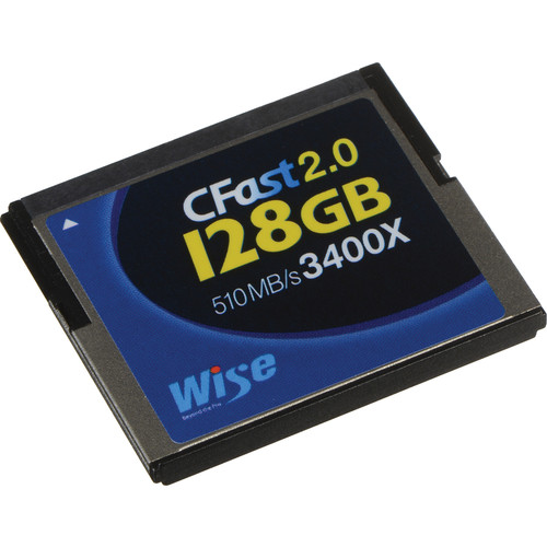 Wise Advanced 128GB CFast 2.0 Memory Card