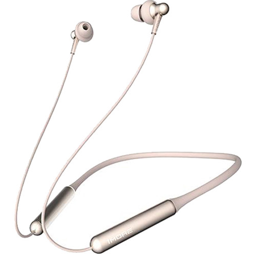 1MORE Stylish Dual-Driver Wireless In-Ear Headphones (Platinum Gold)