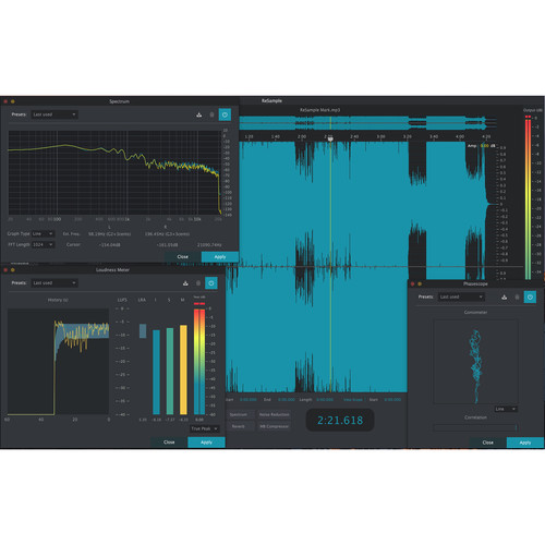 2nd SENSE ReSample - Audio Editing Software (Download)