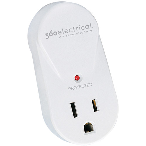 360 Electrical 1 Outlet Rotating Surge Protector