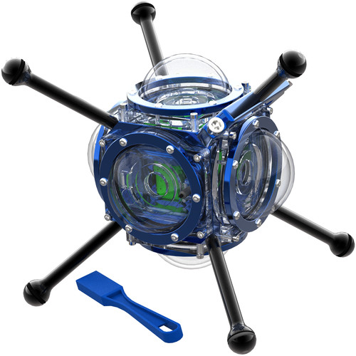 360RIZE 360Abyss v4 Scuba 360 Professional Pack for GoPro Cameras