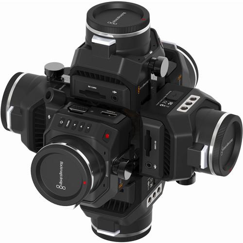 360RIZE 360Helios 6 Blackmagic Micro Rig