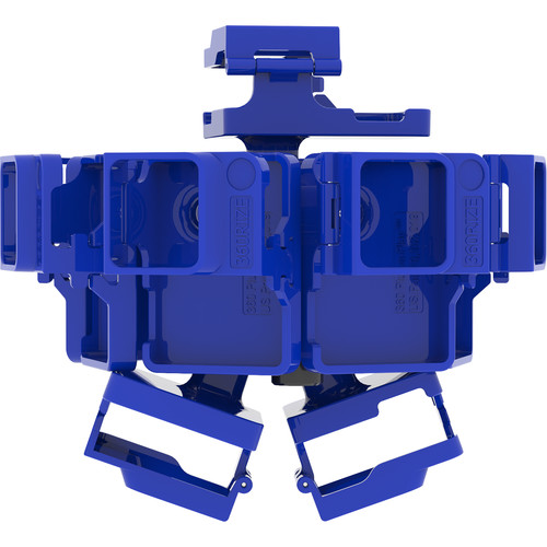 360RIZE Pro10 v2 360° Plug-n-Play Rig for GoPro HERO5/6 Black