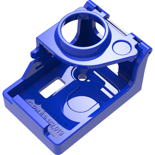 360RIZE Holder Assembly for GoPro HERO4 with Timecode Systems SyncBac
