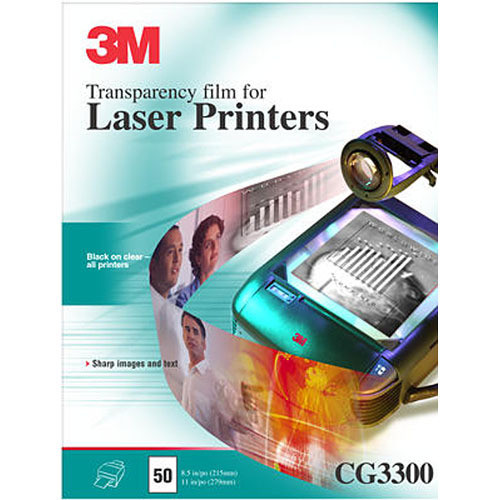 3M CG3300 Transparency Film for Lasers / 50 Per Box