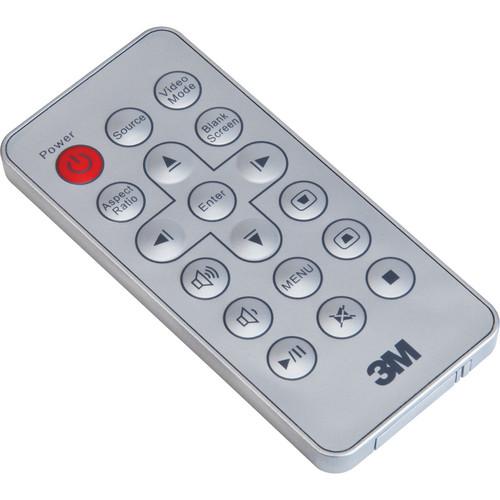 3M Remote Control f/ MP410