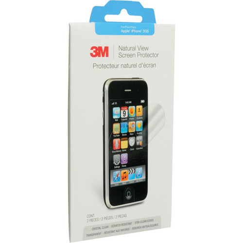 3M Natural View Screen Protector For Apple iPhone 3GS