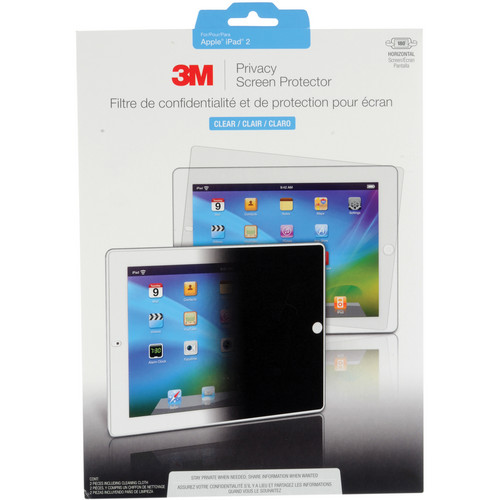 3M Privacy Screen Protector for Apple iPad 2 (Landscape)