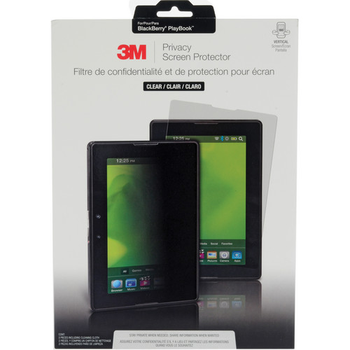 3M Privacy Screen Protector for BlackBerry Playbook (Portrait)