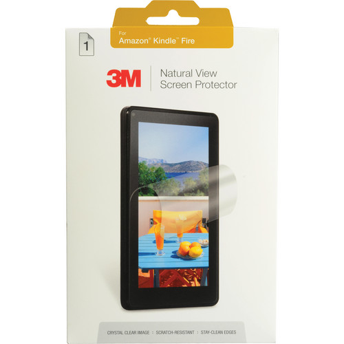 3M Natural View Screen Protector for Amazon Kindle Fire