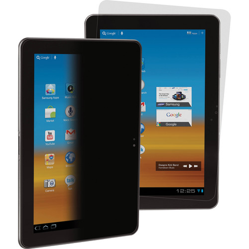 """3M Privacy Screen Protector for 10.1"""" Samsung Galaxy Tab 2 (Landscape)"""