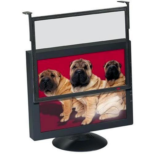 """3M Executive Anti-Glare/Anti-Radiation Filter for 14-16"""" CRT and 15"""" LCD Displays (Black)"""