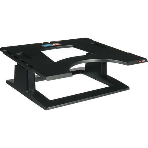 3M LX500 Adjustable Notebook Riser (Black)