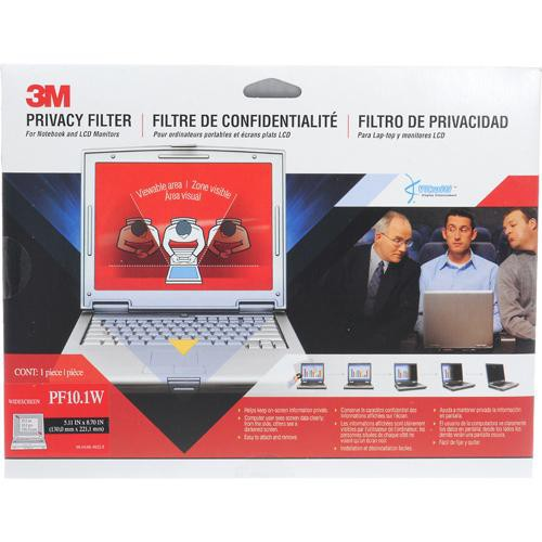 "3M PF10.1W LCD Privacy Filter for 10.1"" 16:10 Widescreen LCD Monitors Displays"