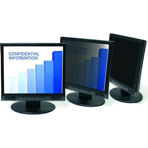 "3M Privacy Filter for 17"" LCD Displays (Black)"