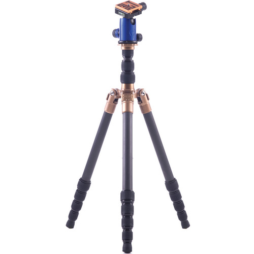 3 Legged Thing X1.1 Brian 5-Section Carbon Fiber Tripod with AirHed 1 Ball Head (Blue)
