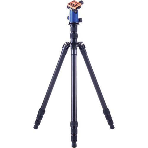 3 Legged Thing X4 Jack 4-Section Magnesium Alloy Tripod with AirHed 1 Ball Head (Blue)
