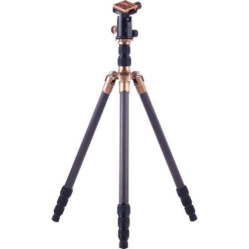 3 Legged Thing X4 Eric 4-Section Carbon Fiber Tripod with AirHed 1 Ball Head (Black)