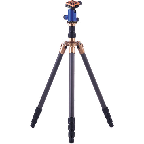 3 Legged Thing X4 Eric 4-Section Carbon Fiber Tripod with AirHed 1 Ball Head (Blue)