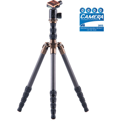 3 Legged Thing X1.1 Brian Evolution 2 Carbon Fiber Tripod System with AirHed 1 Ball Head (Black)