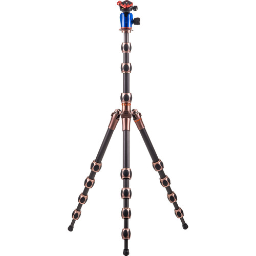 3 Legged Thing Equinox Albert Carbon Fiber Travel Tripod with AirHed 360 Ball Head