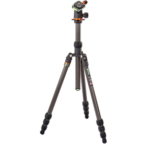 3 Legged Thing Punks Series Billy Carbon Fiber Tripod with AirHed Neo Ball Head (Black)