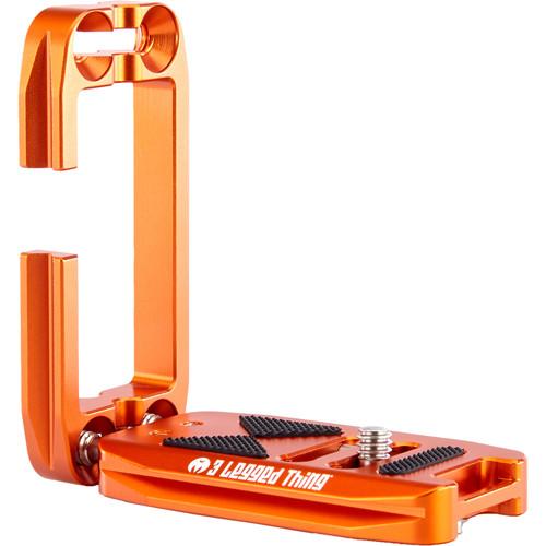 3 Legged Thing Ellie Short Universal L-Bracket with Shorter Base(Copper Orange)